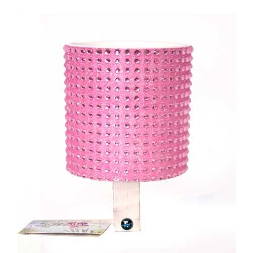 Cruiser Candy Lt. Pink Rhinestone Drink Holder