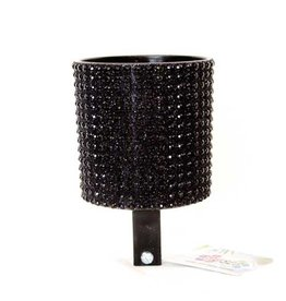 Cruiser Candy Black Rhinestone Drink Holder