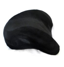 Cruiser Candy Black Bike Seat Cover