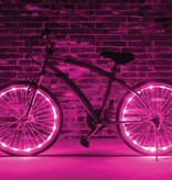 Brightz, Ltd. Wheel Brightz LED Lights Pink