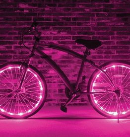 Brightz, Ltd. Wheel Brightz LED Lights Pink (ONE WHEEL)