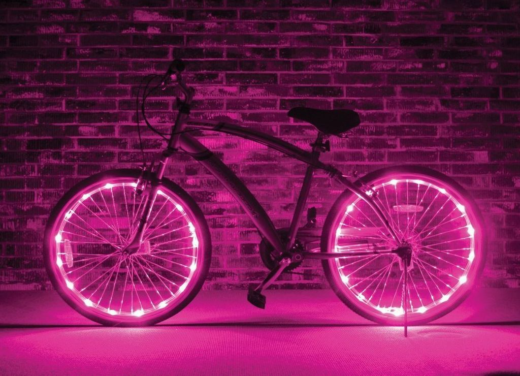 Brightz, Ltd. Wheel Brightz LED Lights Pink (ONE WHEEL)