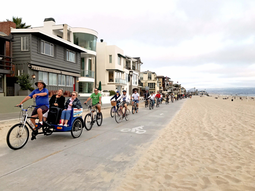 2017 Guided Sunset Strand History Tour by Bike