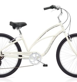 "Electra Electra Cruiser 7D 24"", Ladies', Pearl White"