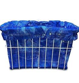 Cruiser Candy Blue Jeans Basket Liner