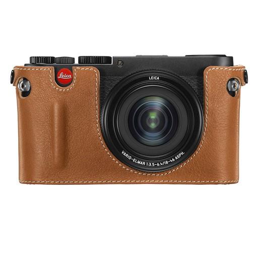 Camera Protector - Cognac Leather X Vario