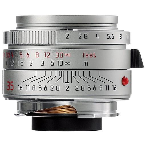 35mm / f2.0 ASPH Summicron Silver (E39) (M)