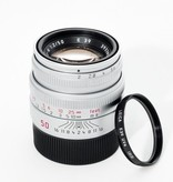 Used 50mm Summicron f2.0 w/ Caps, Case, Leica UV Filter - No Boxes