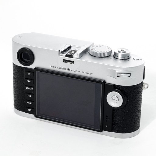 Used M Typ 240 Silver w/ 2 Batteries, Battery Charger, Strap, and Thumbs-Up