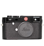 Used M (Typ 240) Black w/ 2 Batteries, Battery Charger, Booklet, Box, and Strap