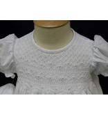 #06757 Delicate Smocked Baptism Gown