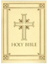 Ignatius Press Catholic Family Bible - Ivory (hardcover)