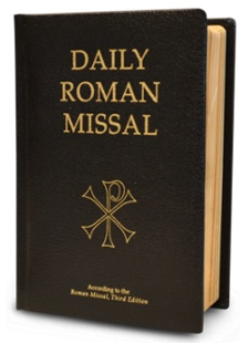 Daily Roman Missal, 7th Ed., Standard Print (Bonded Leather, Black)