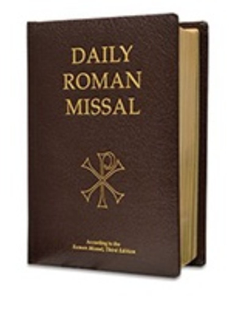 Daily Roman Missal, 7th Ed., Standard Print (Bonded Leather, Burgundy)