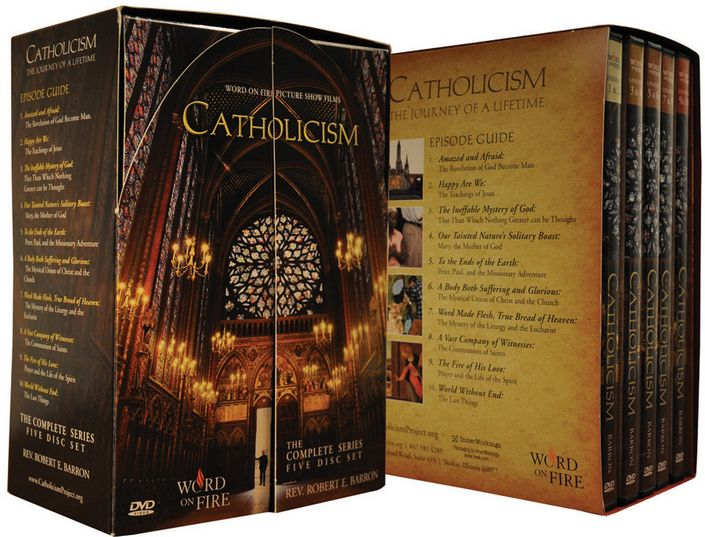 CATHOLICISM  (5 DVDs, 10 programs)