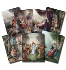 "William J. Hirten Co., LLC Hail Mary Poster Set (8x10"")"