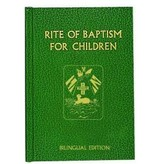 RITE OF BAPTISM FOR CHILDREN (BILINGUAL ED)