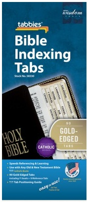 Bible Tabbies: Catholic (Gold)