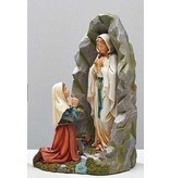 "8"" OUR LADY OF LOURDES GROTTO FIGURE"