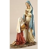 """10.5"""" OUR LADY OF LOURDES FIGURE"""