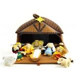 Nativity Plush Play Set (11 Pieces)
