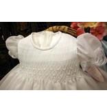 #06137 Christening Dress W/Bonnet