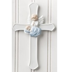 "7"" GUARDIAN ANGEL CROSS BOY"
