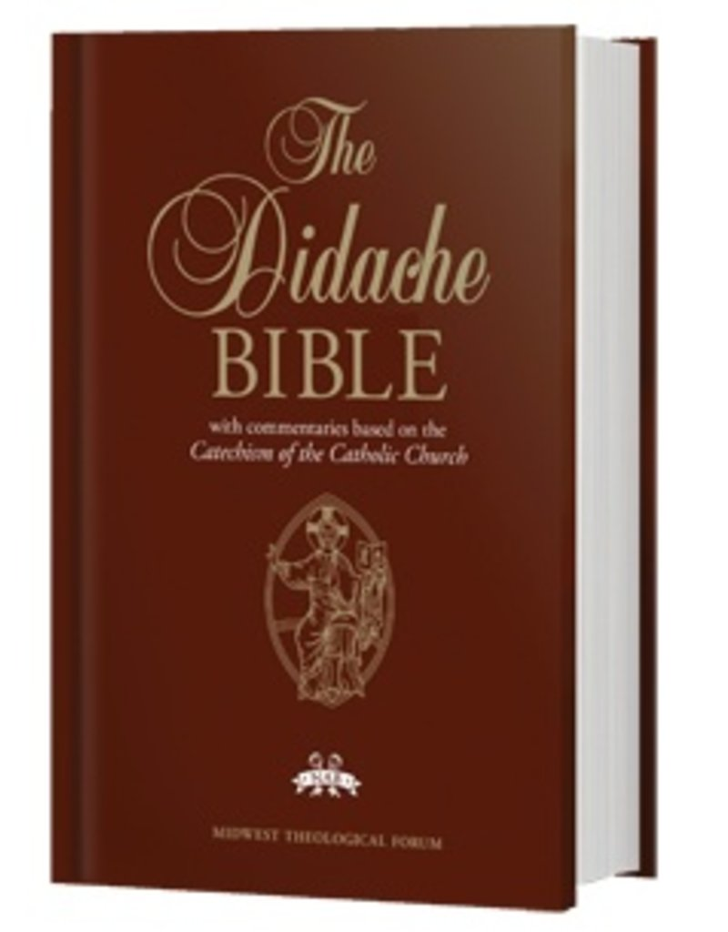 The Didache Bible (NABRE), Hardcover with introductions and footnotes from the NABRE