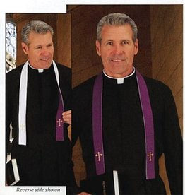 Reversible Ribbon Confession Stole