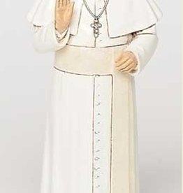 "6.25"" POPE FRANCIS FIGURE"