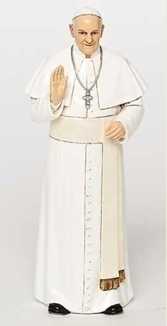 "6.25"" POPE FRANCIS FIGURE"