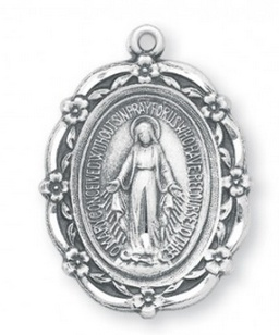 HMH Religious Mfg Sterling Silver Wheat Crucifix