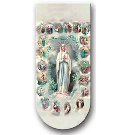 MYSTERIES OF THE ROSARY MAGNETIC BOOKMARK