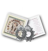 William J. Hirten Co., LLC Ave Maria Rosary Ring with Prayer Card