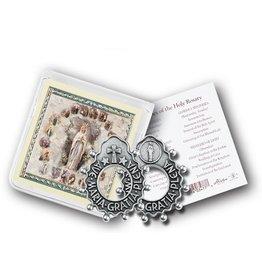 William J. Hirten Co., LLC Ave Maria Rosary Ring with Prayer Card