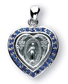 "Miraculous Heart / Sapphire 3/4"""