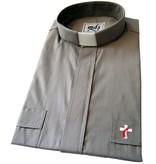 Deacon Shirt (#7400) in Gray (Short Sleeved)