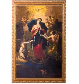 Nelson Fine Art & Gifts Mary Undoer of Knots Framed Art (Size: 5 1/2 x 8 1/2)