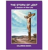 The Story of Lent Coloring Book
