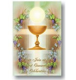 FIRST COMMUNION INVITATIONS (8 pack)