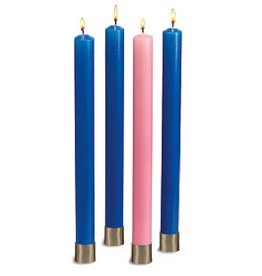 "16"" Polar Advent Set (3 Blue, 1 pink)"