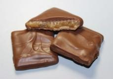 Milk chocolate Coated  Almond Toffee (8 oz box)