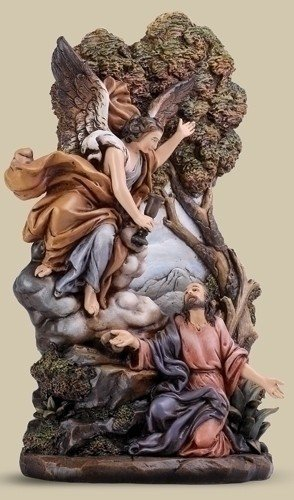 """10.25"""" JESUS AT GETHSEMANE"""