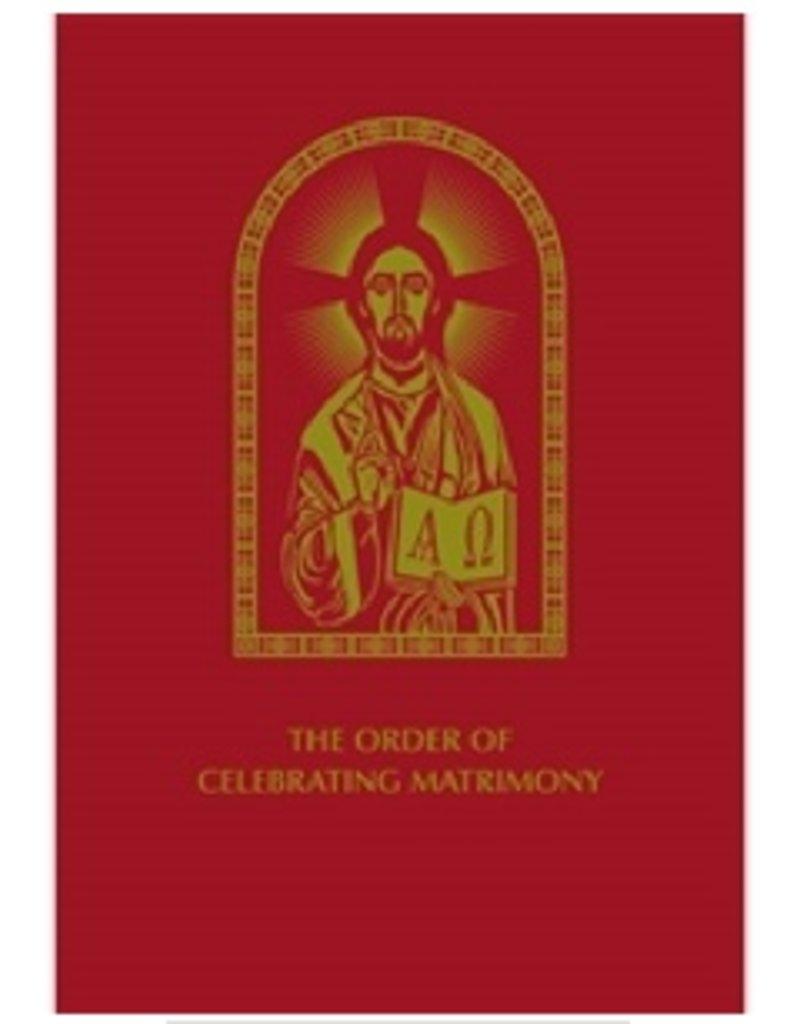 Order of Celebrating Matrimony, 2nd Edition (Bonded Leather Hardcover)