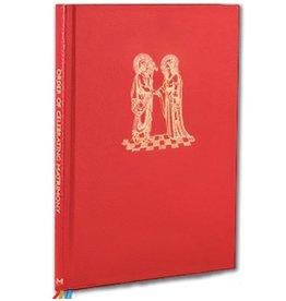 Order of Celebrating Matrimony