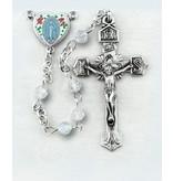 HMH Religious Mfg Aurora Swarovski Crystal Rosary
