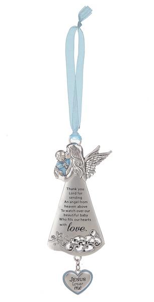 Ganz Angel Crib Ornament - Boy