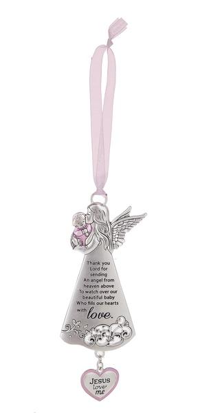 Ganz Angel Crib Ornament - Girl