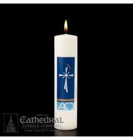 "Cathedral Candle Company Radiance - Christ Candle (3"" x 12"")"