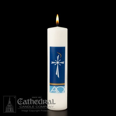 """Cathedral Candle Company Radiance - Christ Candle (3"""" x 12"""")"""